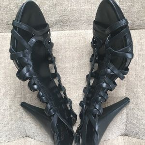 Vince Camuto Shoes - Sexy Strappy Black Heels